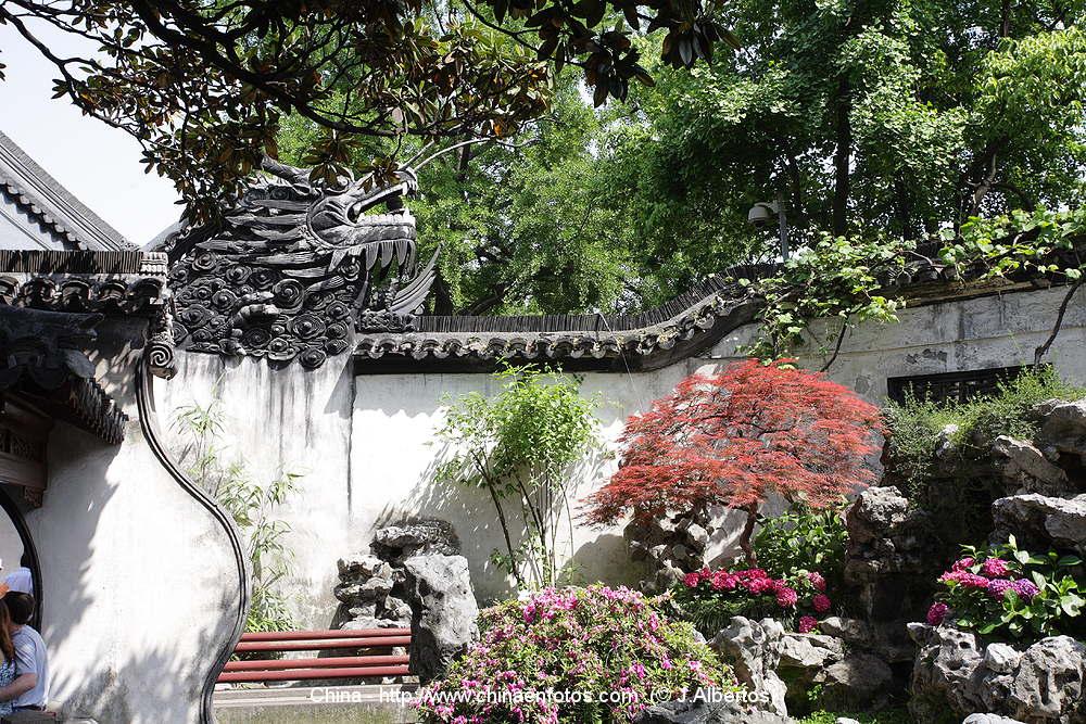 Jardin yuyuan shanghai china im genes y guia de china for Jardin de china