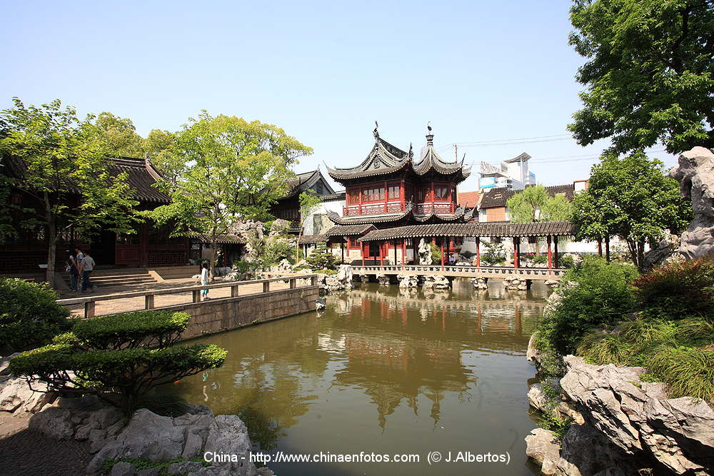 Jardin yuyuan shanghai china im genes y guia de china for Jardin yu shanghai