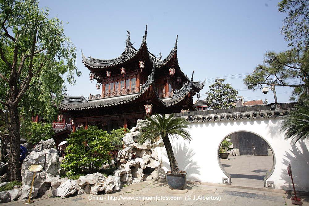 Photos of yuyuan garden shanghai pictures of china p1 for Jardin yu shanghai