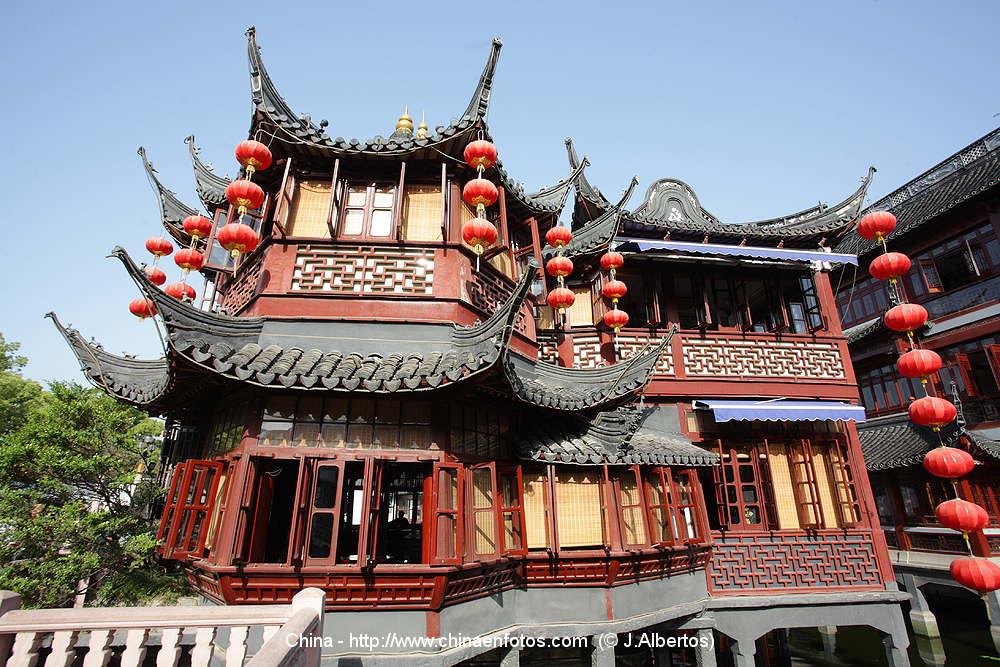 Photos of yuyuan garden shanghai pictures of china p1 for Jardin de china