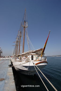 JUAN SEBASTIÁN EL CANO - TRAINING SHIP - VESSEL