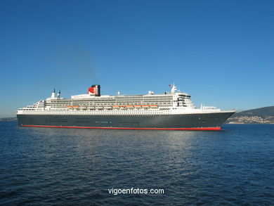 QUEEN MARY 2 (II) - CRUISE SHIP CUNARD