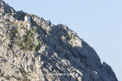 LIGHTHOUSE OF 'OS BICOS' - CIES ISLANDS