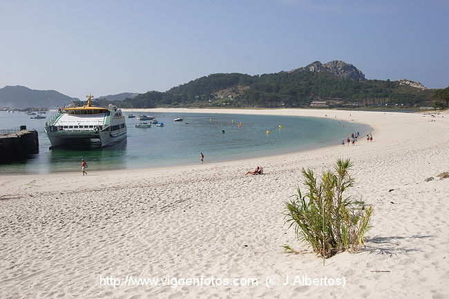 praia de samil playa de rodas
