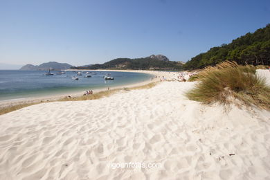 BEACH OF RODAS - CIES ISLANDS