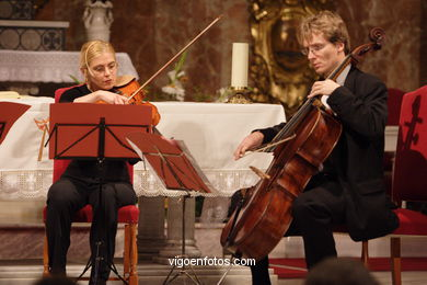 STRINGS QUARTET - PRESTO -  GENERATION 2000+5 - VIGO - SPAIN