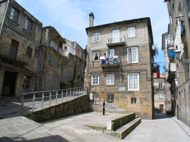 HIGH NEIGHBORHOOD - OLD PART OF TOWN. VIGO