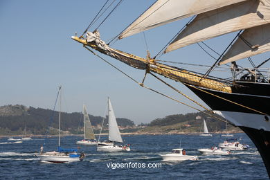 TALL SHIPS ATLANTIC CHALLENGE 2009 - VIGO, SPAIN. CUTTY SARK. 2009 -