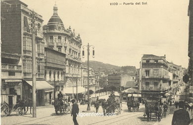 POSTCARDS OF VIGO OF CENTURY PRINCIPLES