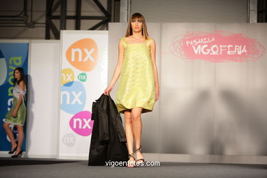 600 PUNTOS. DISEÑADOR: MAIDER IZAGIRRE SARASOLA - MAIDER ALZAGA. RUNWAY FASHION OF YOUNG FASHION DESIGNER 2008 - VIGOFERIA