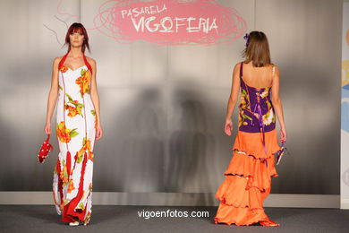 ABRIL. DISEÑADOR: MARIA JESUS CUEVAS. RUNWAY FASHION OF YOUNG FASHION DESIGNER 2008 - VIGOFERIA