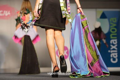 KATTALIN. DISEÑADOR: KATTALIN MARIN APARICIO. RUNWAY FASHION OF YOUNG FASHION DESIGNER 2008 - VIGOFERIA