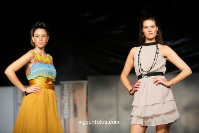 MADEMOISELLE MARIE. FASHION DESIGNER: CRISTINA LEÓN Y EMMA CALBÓ . RUNWAY FASHION OF YOUNG FASHION DESIGNER 2009 - VIGOFERIA