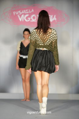 PRETÉRITO IMPERFECTO. FASHION DESIGNER: CELIA ALVAREZ . RUNWAY FASHION OF YOUNG FASHION DESIGNER 2009 - VIGOFERIA