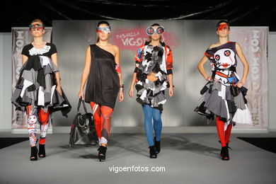SUBLIME SUBLIMA. FASHION DESIGNER: ALBERTO NEVES . RUNWAY FASHION OF YOUNG FASHION DESIGNER 2009 - VIGOFERIA
