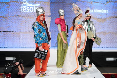 APOLLO 11. FASHION DESIGNER: ALBA BERMÚDEZ RIVERA. RUNWAY FASHION OF YOUNG FASHION DESIGNER 2010