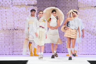 WE ARE. FASHION DESIGNER: DIANA DÍAZ SALGADO. RUNWAY FASHION OF YOUNG FASHION DESIGNER 2010