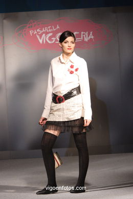 FASHION COLLECTION OF NAHIA IRIARTE OZkARIZ - RUNWAY FASHION OF YOUNG FASHION DESIGNER 2007 - VIGOFERIA