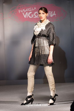 FASHION COLLECTION OF EDURNE IBAÑEZ HUARTE - RUNWAY FASHION OF YOUNG FASHION DESIGNER 2007 - VIGOFERIA
