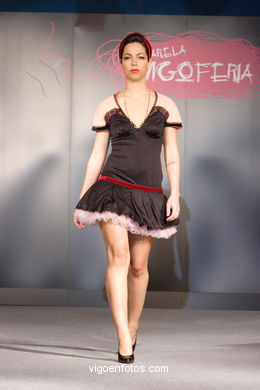FASHION COLLECTION OF IONE MARTINEZ - RUNWAY FASHION OF YOUNG FASHION DESIGNER 2007 - VIGOFERIA