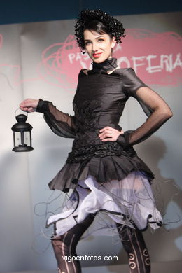 FASHION COLLECTION OF EBA CRUZ - RUNWAY FASHION OF YOUNG FASHION DESIGNER 2007 - VIGOFERIA