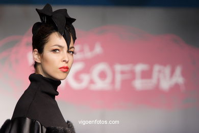 FASHION COLLECTION OF CRISTINA HERNANDEZ - RUNWAY FASHION OF YOUNG FASHION DESIGNER 2007 - VIGOFERIA