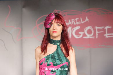 FASHION COLLECTION OF SOLEDAD MAYORAL ADEVA - RUNWAY FASHION OF YOUNG FASHION DESIGNER 2007 - VIGOFERIA