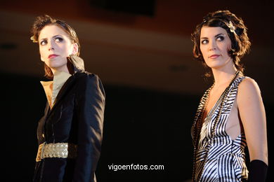MIGUEL ANGEL BASAIL JIMENEZ - EXTRA FEMALE. RUNWAY FASHION OF YOUNG FASHION DESIGNER 2006