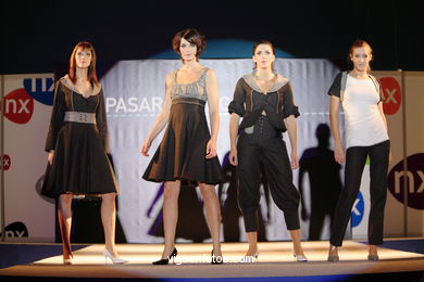 LEYRE PARIS CORBACHO - DENINVILLE. RUNWAY FASHION OF YOUNG FASHION DESIGNER 2006