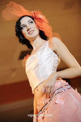 IDOIA ERQUIAGA OTAOLA - FRIDA KAHLO. RUNWAY FASHION OF YOUNG FASHION DESIGNER 2006