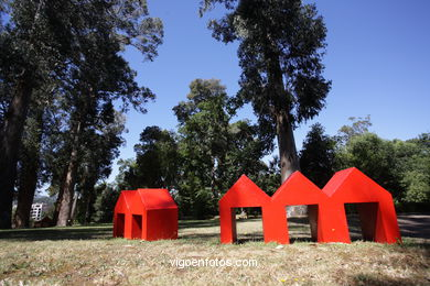 SCULPTURE EXHIBITION SPAIN. NATURE AND ART