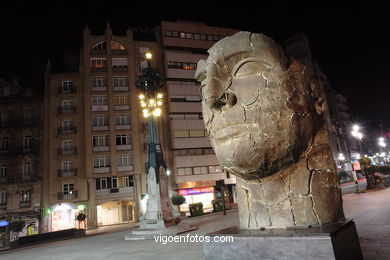 SCULPTURES DE IGOR MITORAJ. SCULPTURES AND SCULPTORS. VIGO