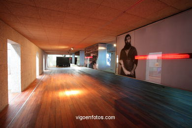 EXHIBITION HALL OF THE MUSEUM OF THE SEA OF GALICIA