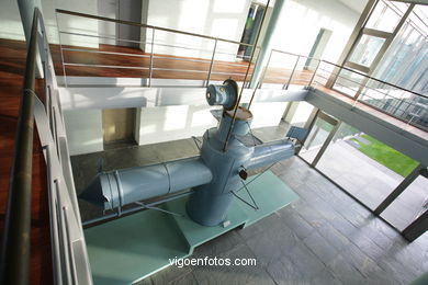 SUBMARINE OF SANJURJO BADÍA. 19TH CENTURY. MUSEUM OF THE SEA OF GALICIA