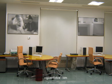 ROOM OF NEW TECHNOLOGIES AND DEMONSTRATION OF SOCIAL CENTER CAIXANOVA