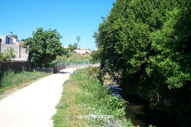 FLUVIAL WALK OF LAGARES RIVER