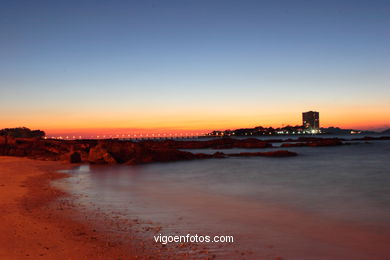 SUNSET & SUNRISE. VIGO BAY. SEA AND LANDSCAPES. SIRENITA