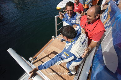 POWERBOATP1 - PODIUM AND CELEBRATION - VIGO