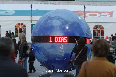 COUNTDOWN CLOCK - VOLVO OCEAN RACE - VIGO - SPAIN