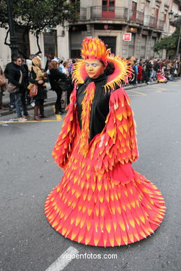 CARNIVAL 2012 - PROCESSION GROUP - SPAIN
