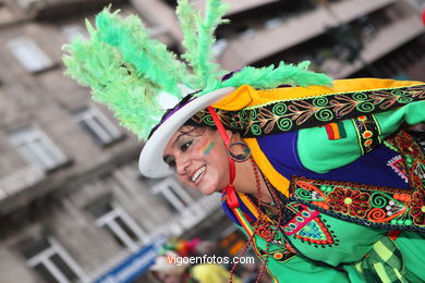 CARNIVAL 2013 - PROCESSION GROUP - SPAIN
