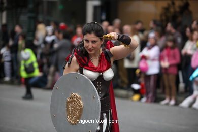 CARNIVAL 2014 - PROCESSION GROUP - SPAIN