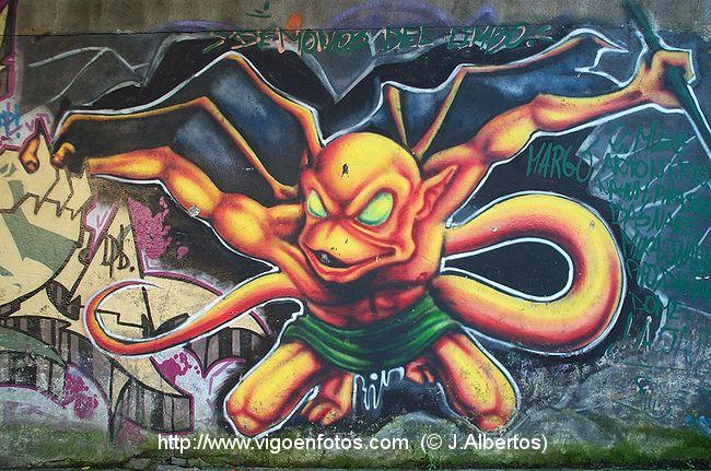 FOTOS DE GRAFFITIS: MUROS, POMPAS, BOCETOS, MURAL, LETRAS, GALERIA ...