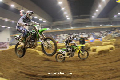 SUPERCROSS VIGO 2010. FREESTYLE INDOOR