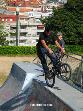 BICYCLES AND SKATE PARK