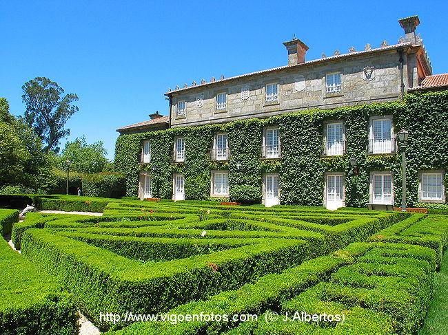 Fotos de jard n franc s de qui ones de le n vigo galicia for Jardin frances