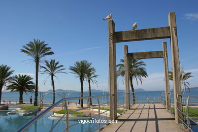 OPEN-AIR SWIMMING POOL - SAMIL BEACH - VIGO - SPAIN