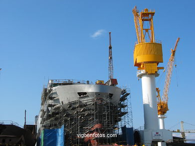 SHIPYARDS OF BEIRAMAR - VIGO - SPAIN