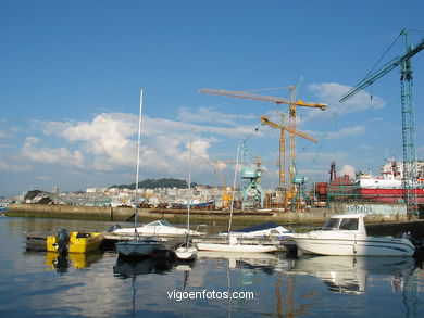 DOCKS OF BEIRAMAR - VIGO - SPAIN