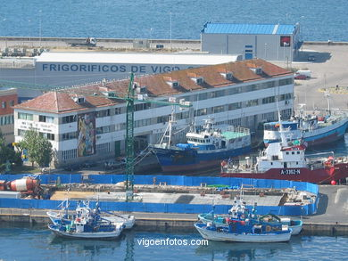 FISHING PORT OF THE BERBES AREA - VIGO - SPAIN